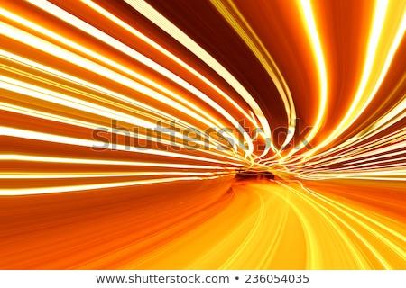 Orange Motion Blur stock photo © grivet