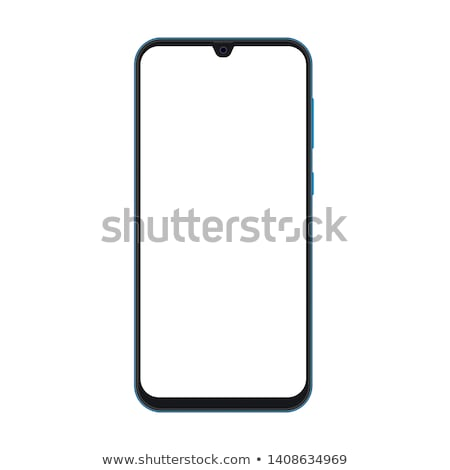 Stock photo: Ultra Realistic modern touch smartphone