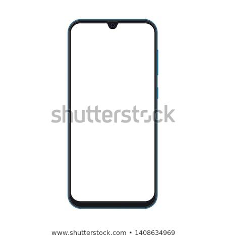 ultra realistic modern touch smartphone stock photo © davidarts