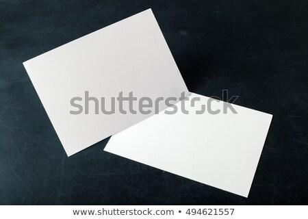 stacked invitations Stock photo © Forgiss