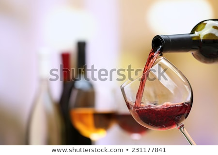 glass goblet for wine drink Stock photo © LoopAll