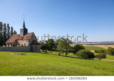 Small Village Church In France Zdjęcia stock © jorisvo