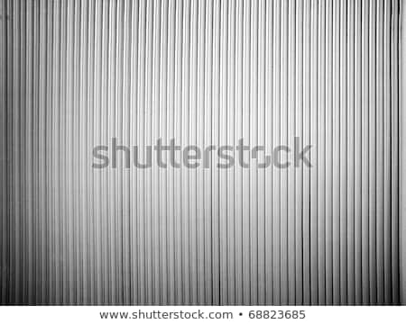 縞模様の 黒白 ドア 木製 壁 抽象的な ストックフォト © Roka