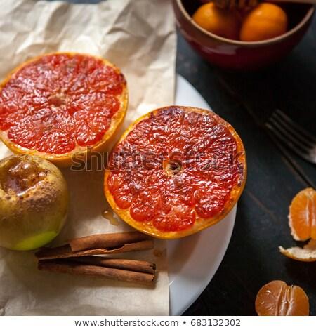 grapefruit with sugar and raisin Stock photo © M-studio