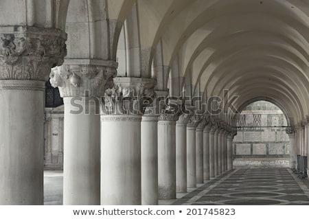 Arquitectura histórica Venecia Italia Europa edificio pared Foto stock © Spectral