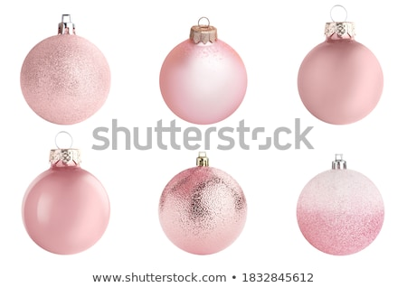 christmas decoration elements set stock photo © balasoiu