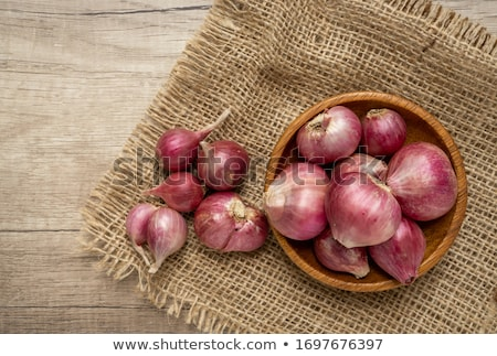 bunch of brown onions Stock photo © epstock
