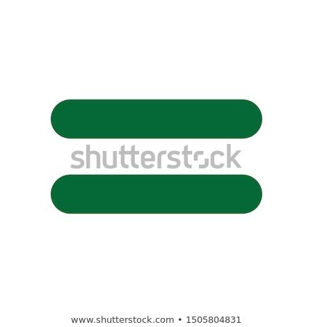 Verde ecualizador resumen ilustración vector Foto stock © derocz