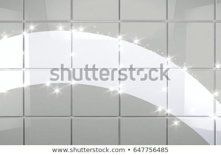 molhado · concreto · textura · mão · construção - foto stock © smuki