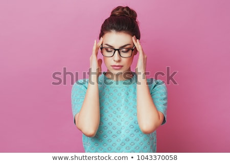 Angry young woman Stock photo © dash