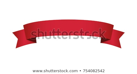 Rood banners illustratie ingesteld lege vector Stockfoto © UPimages