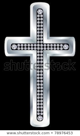 diamante · ovo · de · páscoa · católico · ilustração · dom · deus - foto stock © carodi