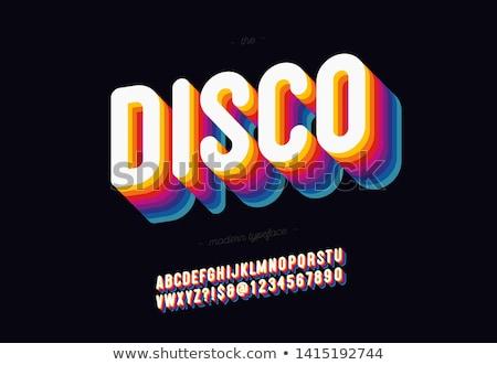Discoteca vetor belo arte música festa Foto stock © Pinnacleanimates