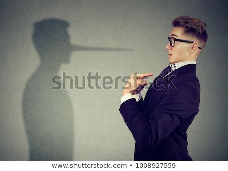 homem · de · negócios · negócio · executivo · de · volta - foto stock © fuzzbones0