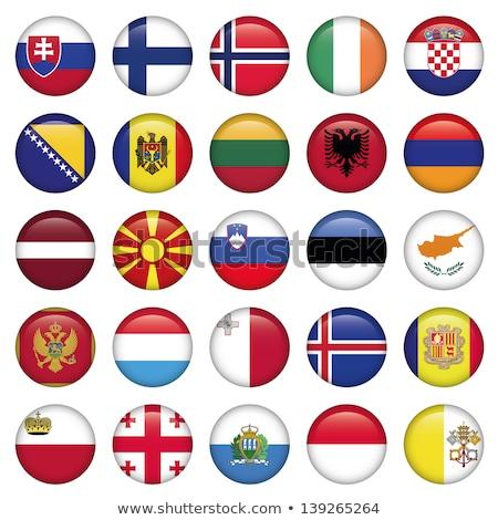 round icon with flag of armenia stock photo © mikhailmishchenko