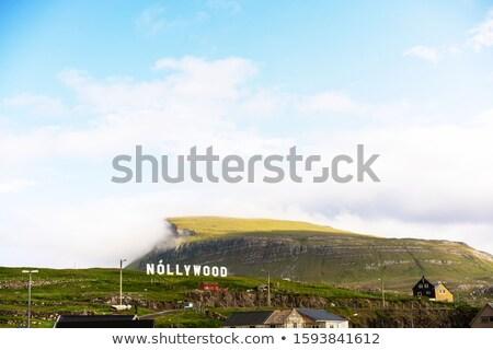 パノラマ 島 自然 風景 海 雲 ストックフォト © Arrxxx