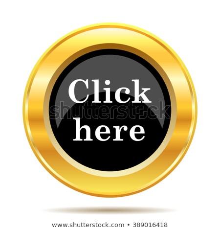 Letöltés itt arany vektor ikon terv Stock fotó © rizwanali3d