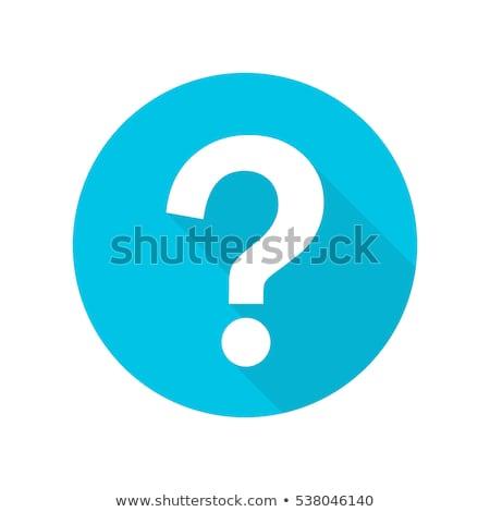 просить синий вектора икона кнопки веб Сток-фото © rizwanali3d