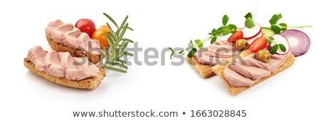 Crispbread and liver pate  Stock photo © Digifoodstock
