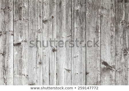 Stock photo: Weathered wooden fence texture