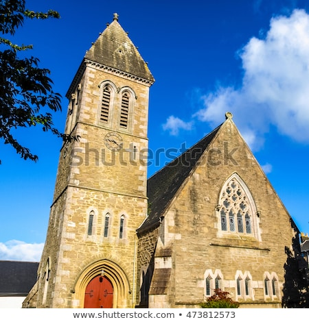 старые · ретро · Церкви · Готский · стиль · бумаги - Сток-фото © claudiodivizia