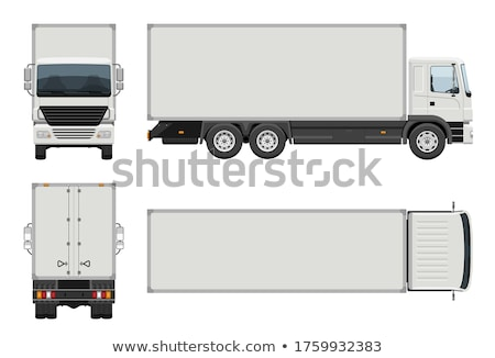 Lorry truck without container box Stock photo © bluering