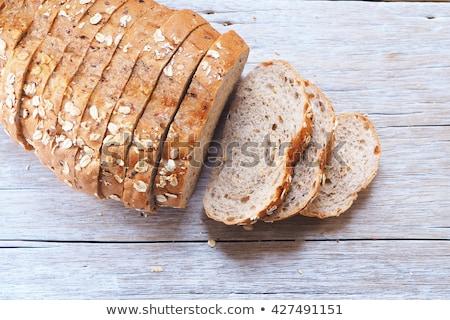 slices of wholegrain bread Stock photo © Digifoodstock