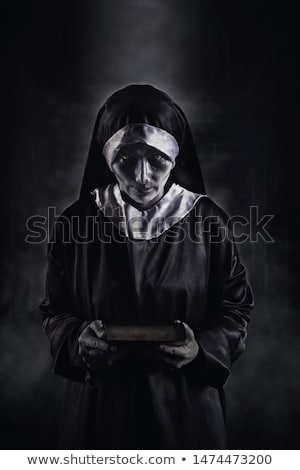 frightening evil nun Stock photo © nito