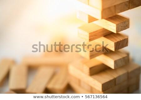 Foto stock: Quebra-cabeça · jogo · cubo · crianças