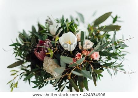 belo · moderno · buquê · de · casamento · amor - foto stock © ruslanshramko