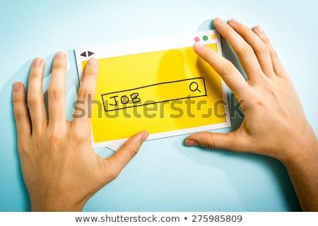 recrutamento · ilustração · gestão · humanismo · recurso · negócio - foto stock © tele52