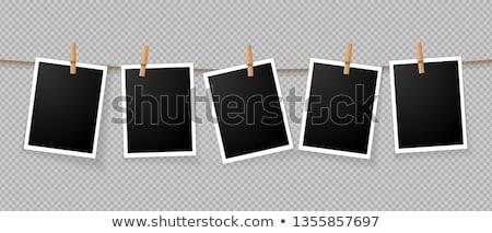 clothespin at the wall stock photo © make
