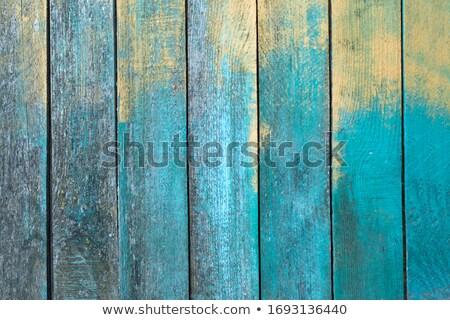 turquoise · texture · bois · planche · bois · couleur - photo stock © marylooo