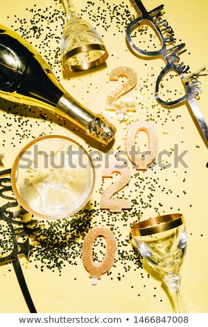 2020 New Year Fireworks Display Concept Stock photo © solarseven