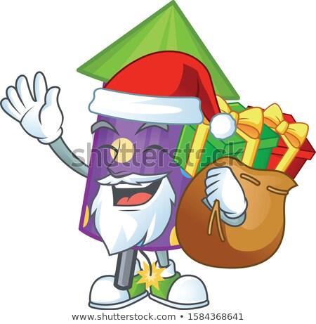 Santa Gift Launcher Stock photo © cidepix