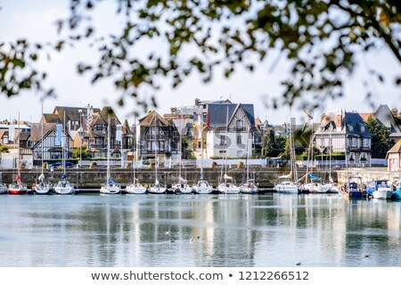 Yacht in Deauville, France Stock photo © borisb17