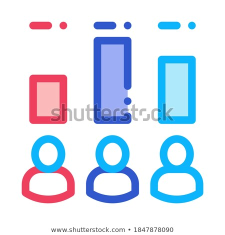 Voter Rating Icon Vector Outline Illustration Stock photo © pikepicture