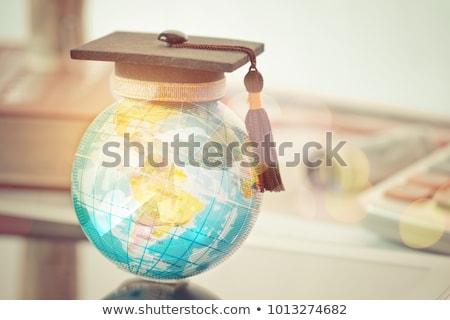 Globo estudar geografia modelo terra planeta Foto stock © robuart