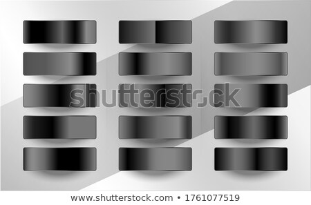 dark and black gradients swatches in matte finish Stock photo © SArts