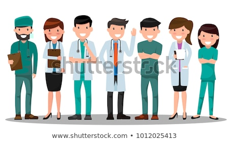 set of various vector medical symbols stock photo © orson