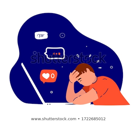 Teen depression worries stress Stock photo © lovleah