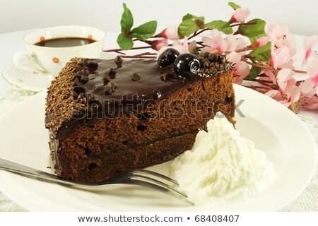 sacher cakes still life stock photo © phbcz