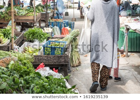 Boy in the selection of clothes with her mother. Stock photo © justinb