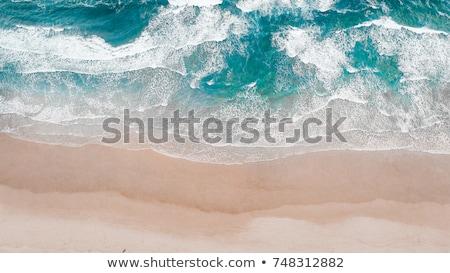 Okyanus sörf kaya deniz Tayland Stok fotoğraf © ivz