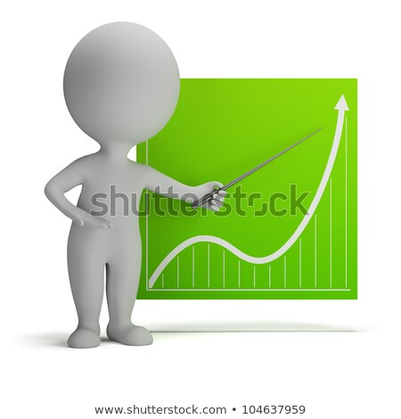 Stock photo: 3d Small People - Diagram