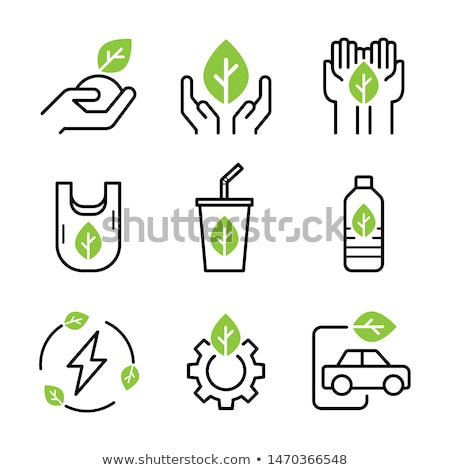 エコ · 自然 · 緑 · 青 · 抽象的な · 草 - ストックフォト © vlad_star
