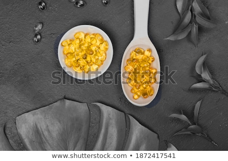 renkli · kaşık · sarı · kâğıt · ahşap · ahşap - stok fotoğraf © happydancing