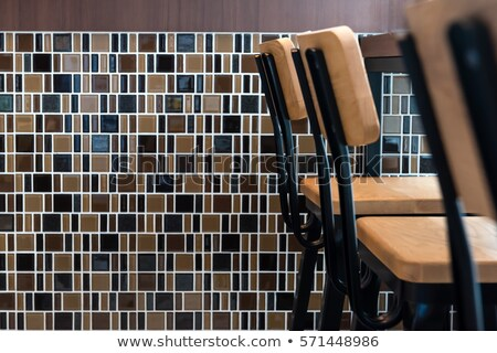 Restaurant mosaic Stock photo © Tawng