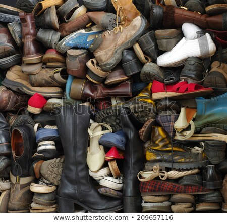 outdoor shoe on a stack Stock photo © prill