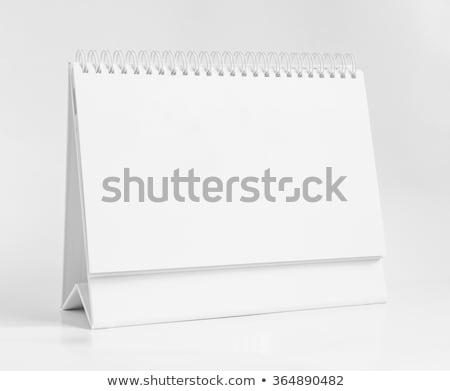 blank desktop calendar stock photo © witthaya